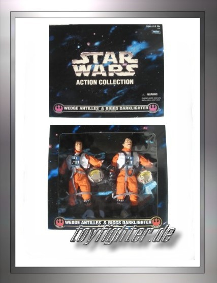 "12"" Wedge Antilles & Biggs Darklighter"