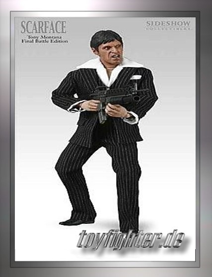 12inch/30cm Sammlerpuppe - Final Battle Scarface