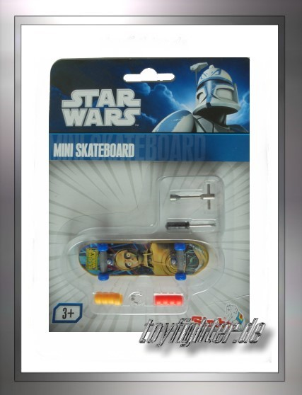 Star Wars Mini Skateboard C-3PO