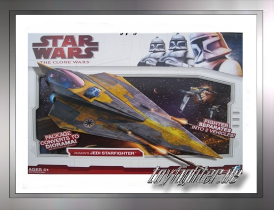 TCW Anakin's (Yellow) Jedi Starfighter